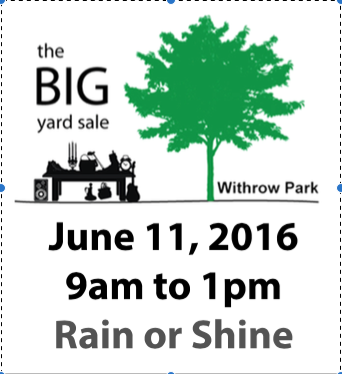 Withrow Yard Sale