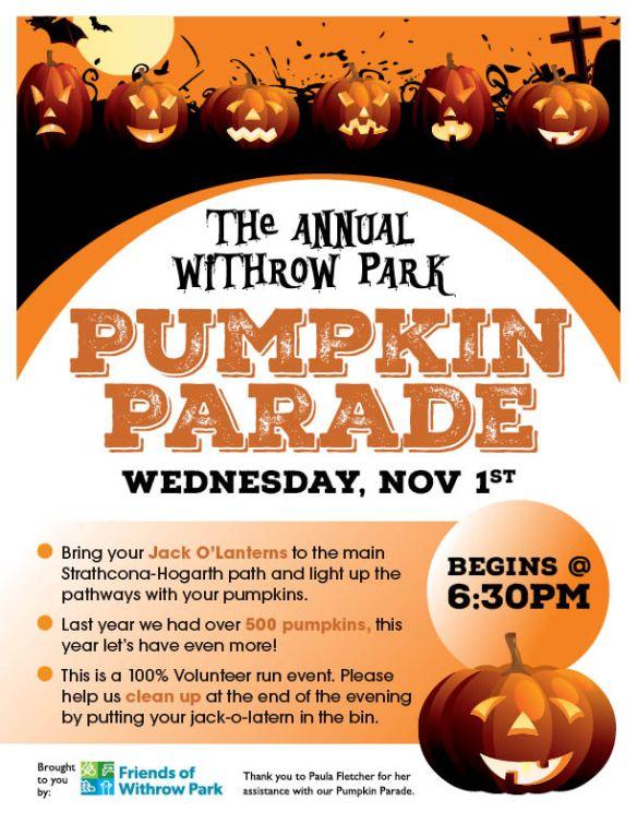 Pumpkin Parade Poster 2017