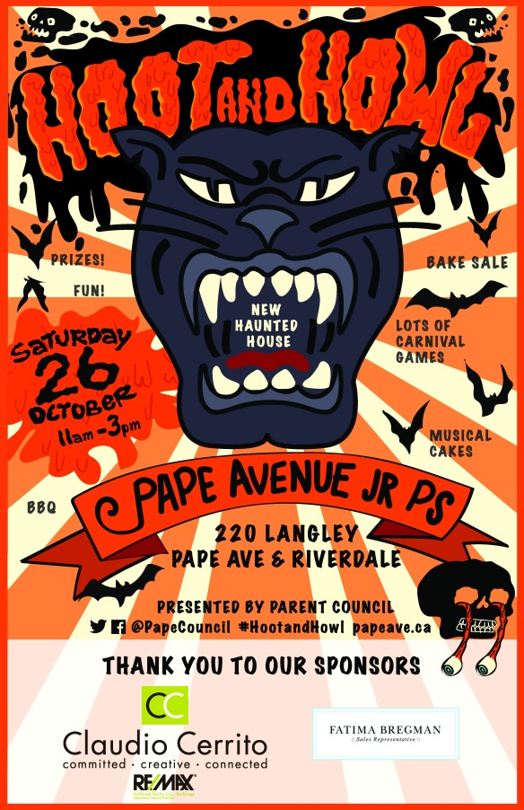 Pape Ave_Hoot and Howl_Oct.26