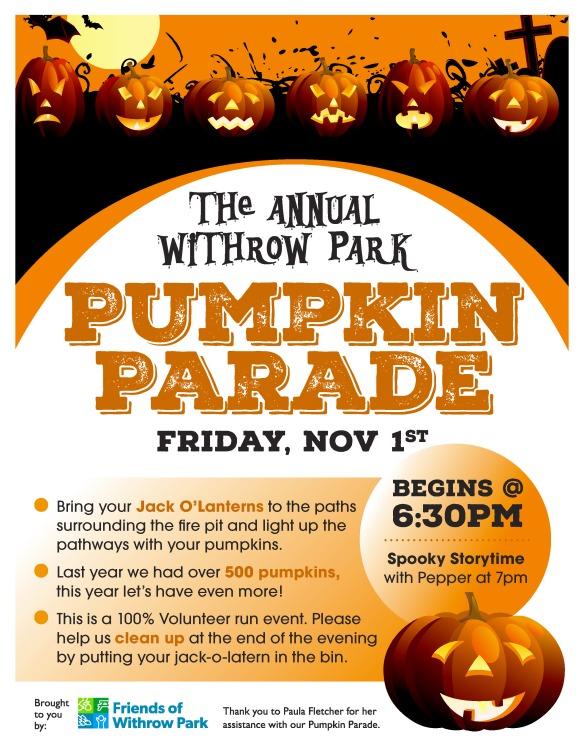 Pumpkin Parade Poster 2019