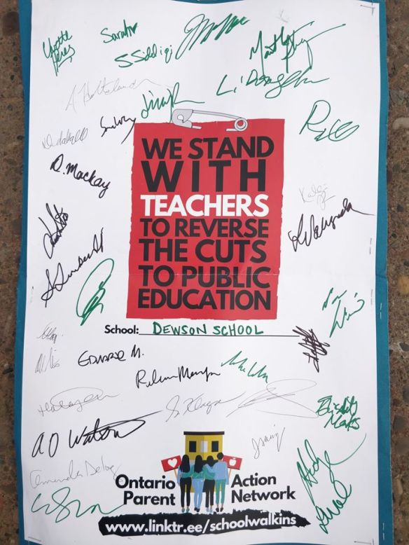 We Stand With Teachers